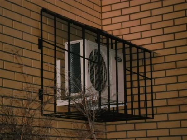 Виготовлення та встановлення захисту кондиціонерів в Києві